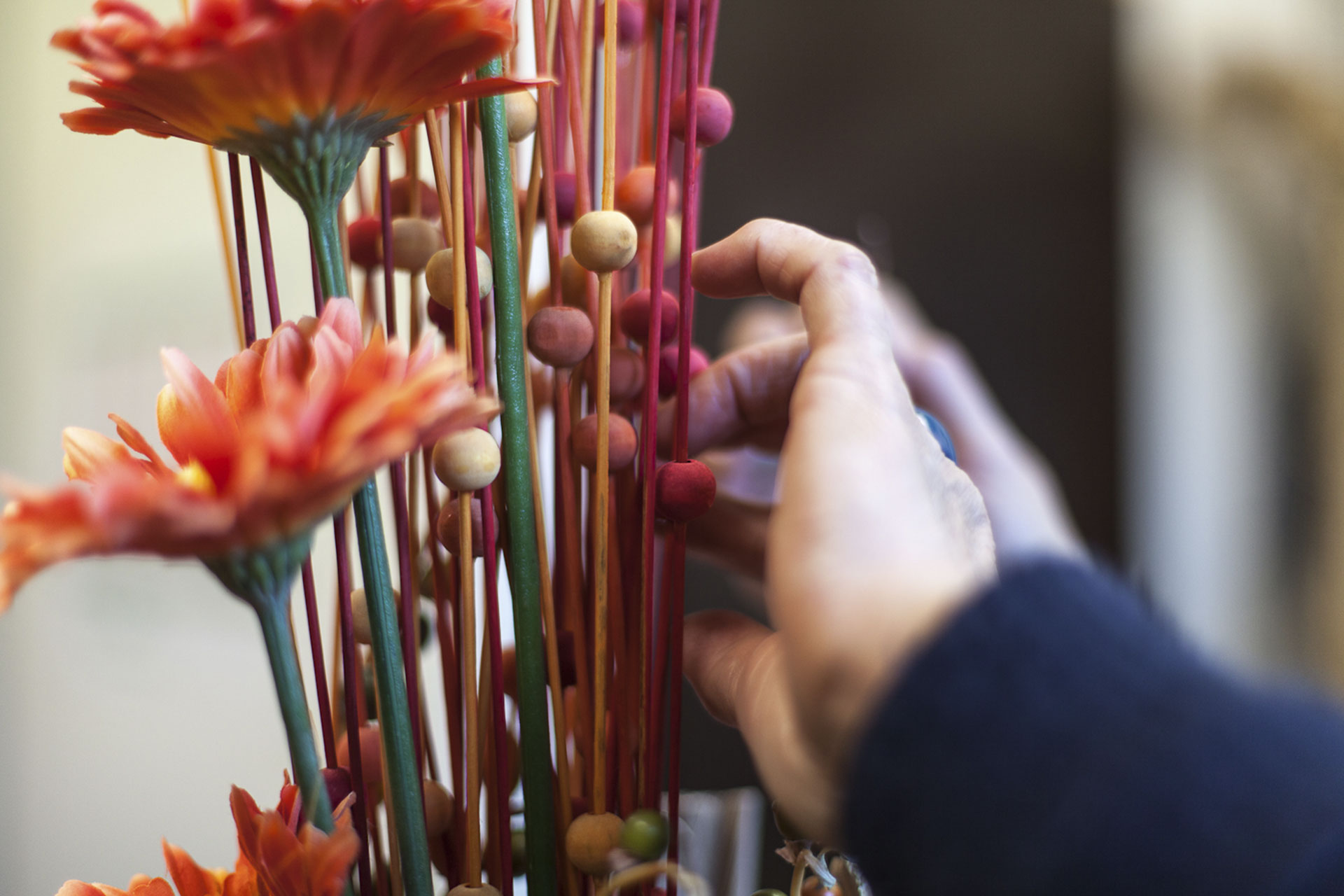 Artesanos de la flor